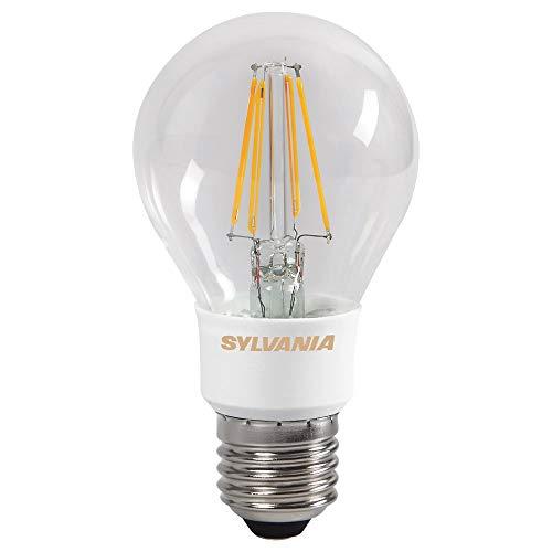 Sylvania Toledo 0027125 Rétro Compatible avec variateur d'intensité Doré Lampe LED, verre, Home, E27, 5.5 W