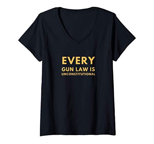 Ogni legge sulle armi è incostituzionale La libertà libertaria è un grande regalo per un compleanno, un anniversario o una laurea. Vari colori di selezione perfezionati per i tuoi gusti e le tue esigenze. Leggera, taglio classico, maniche con doppia ...