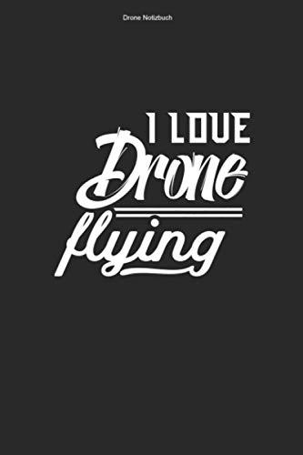 Drone Notizbuch: 100 Seiten | Punkteraster | Fan Dronenpilot Dronenrennen Fliegen Quadcopter Lustig Flug Quadrocopter Drone Rennen Hobby FPV Geschenk Dronen Pilot Team