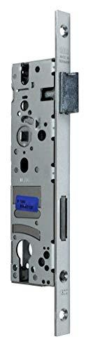 BKS Rohrrahmenschloss/Rahmenschloß 40/92/8, Stulp: 16 x 255mm (schmale Stulp), DIN Links/Rechts (Umstellbar) incl. SN-TEC® Montageset