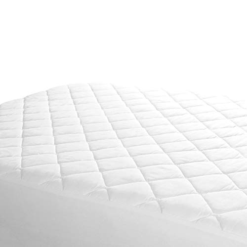 Linens Limited Polycotton Quilted Mattress Protector, Bunk B