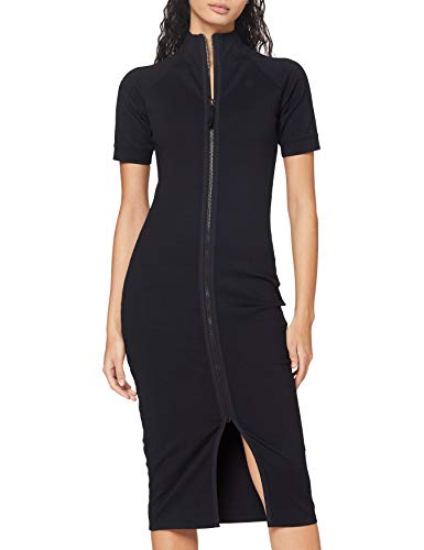 G-STAR RAW Womens Mock Slim Casual Dress, Rinsed C540-082, L