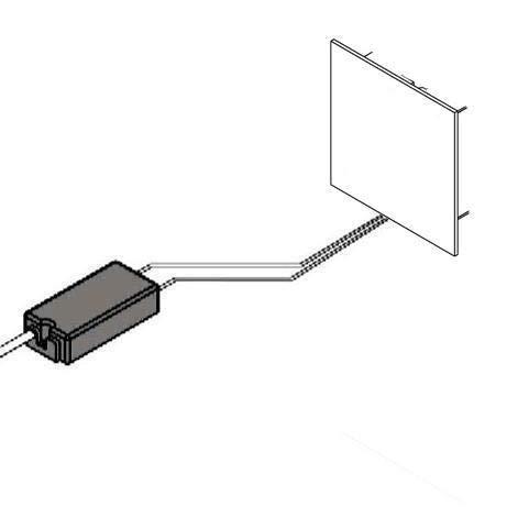 Konverter für max. 18W, weiß LxBxH 5,3×5,1×2,45cm