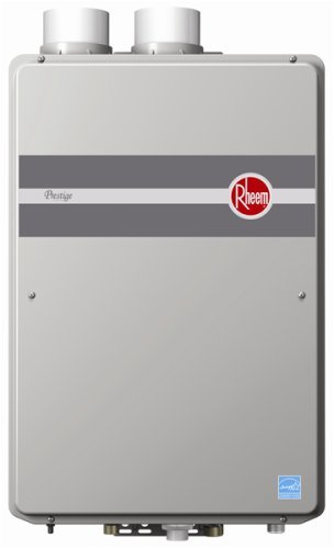 Rheem RTGH-95DVLN 9.5 GPM Indoor Direct Vent Tankless...