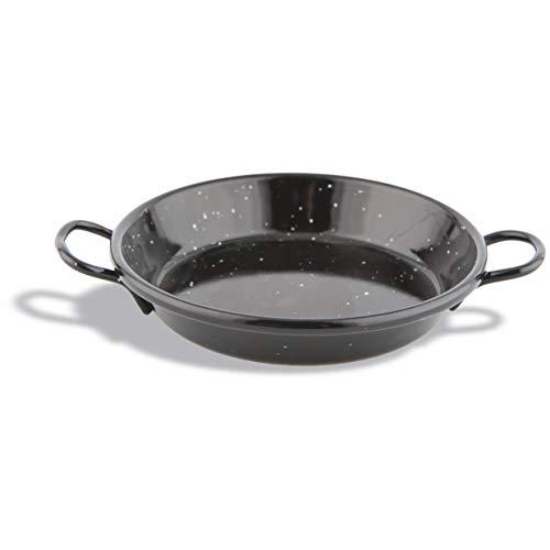 Pujadas P995.016 Geëmailleerd Staal Paella Pan, diameter 15 cm