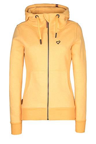 Alife and Kickin YasminAK A Sweatjacket Damen Sweatjacke mit Kapuze (Amber, XL)
