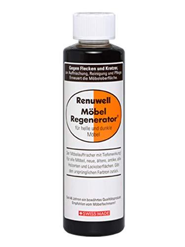 1 Flasche mit 500 ml Renuwell Möbel-Regenerator für alle helle und dunkle Möbel