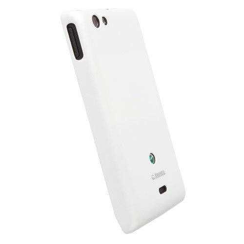 Krusell, Colore Bianco, per Sony Xperia Miro