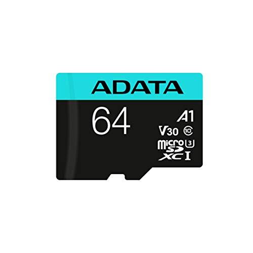 Adata Premier Pro microSDXC/SDHC UHS-I U3 Class 10(V30S) 64GB MicroSD Card