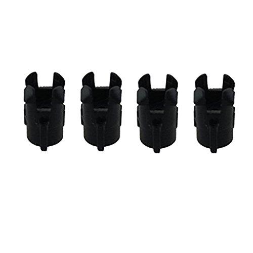 Fenteer Tapón de Cubierta Cover Plugs Accesorios para MJX B3 Mini Bugs 3 Mini RC Drones 4 Unids