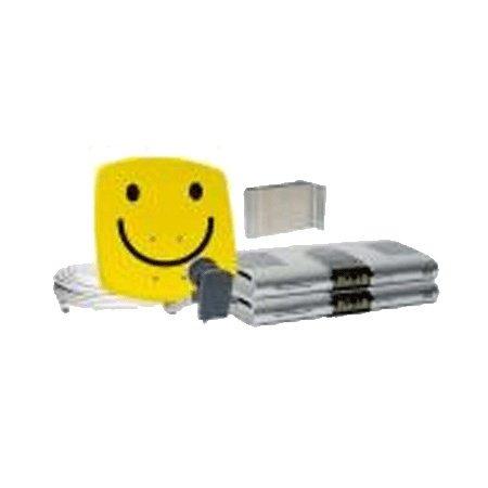 TechniSat DigiDish 33 Zweiteilnehmer-Set Best.aus DigiDish 33, Universal Twin LNB, 2X Digit MF4-S,10m Kabel, Smiley