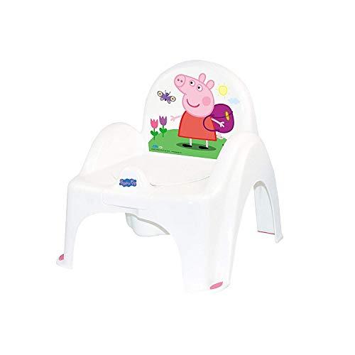 Tega Baby ® Kinder-Töpfchen 6 Modele und Verschiedene Sets Töpfchen + Toilettensitz + Tritthocker Peppa Pig Wutz   rutschfest und besonders sicher, SET:Allein, Farbe:Stuhl Peppa - rosa