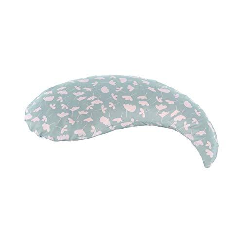 Theraline Yinnie Stillkissen - Kissen für Schwangere & Stillende - verwendbar als Bauchstütze oder Stillkissen - 135x35cm - Füllung aus Mikroperlen