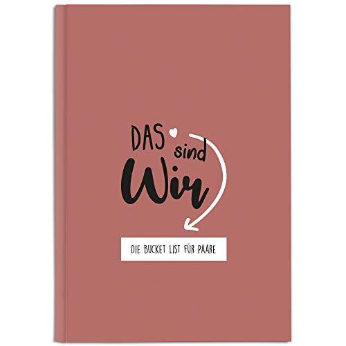 CUPCAKES & KISSES® Bucket List Buch für Paare I Tolles Geschenk für den Jahrestag, Hochzeitstag oder Valentinstag I Geschenke für Paare und Partner