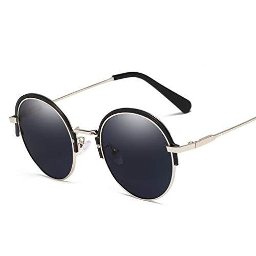 YIWU Brillen 2019 Die Neuen Europäischen Und Amerikanischen Trends Sonnenbrillen HD Round Frame UV-Unisex Brillen & Zubehör (Color : 2)