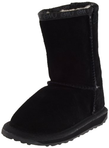 EMU Australia Wallaby Classic Lo Boot (Toddler/Little Kid/Big Kid),Black,8 M US Toddler