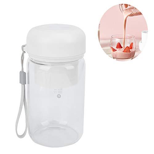 Draagbare juicer Oplaadbare, multifunctionele draagbare USB-blendermixer Juicer Vruchtensapmaker Extractorpers voor het bewaren van voedingsstoffen, koude pers Juicer