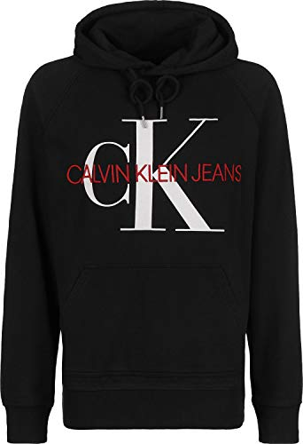 Calvin Klein Jeans Washed Relaxed Monogram Sudadera con Capucha