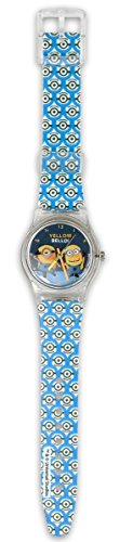 Close Up Despicable Me Armbanduhr Yellow Bello aus Kunststoff