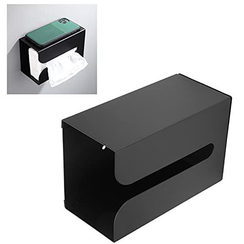 Haowecib Soporte para Caja de pañuelos, Soporte para Caja de pañuelos, Soporte para Papel higiénico, Accesorios de baño para baño