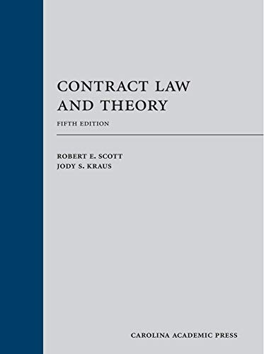 Contract Law and Theory (2013)