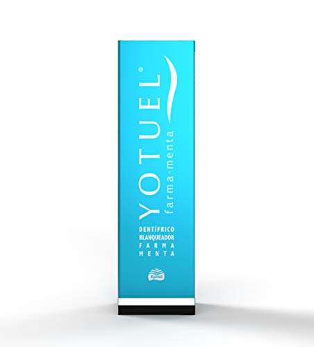 Yotuel farma menta, dentífrico blanqueador 50 ml