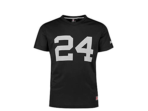 Majestic Oakland Raiders Poly Mesh Trikot Marshawn Lynch schwarz (XXL)
