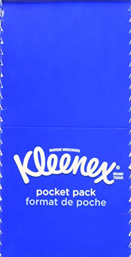 Kleenex 3Ply Pocket Packs Facial Tissues 480 Count Pack of 1