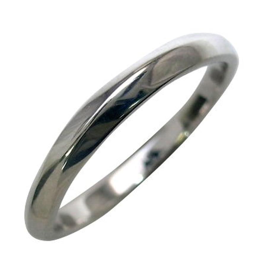 分割脈拍ビュッフェ結婚指輪?マリッジリング?ペアリング(ホワイトゴールド) #17