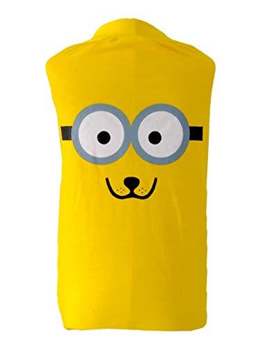 Camiseta Para Pet G Amarela - Divertida Nitsa Milla para Cães