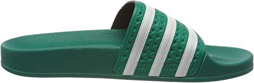 adidas Adilette, Ciabatte Uomo, Verde (Glory Green/Ftwr White/Glory Green), 44 2/3 EU