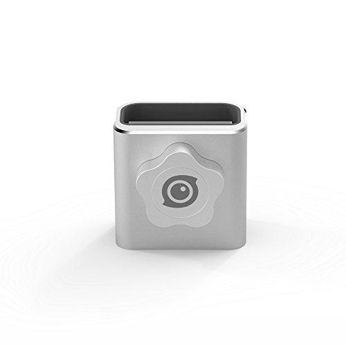 Insta360 Base Hold Aluminum Alloy Panoramic Camera Mount Base Holder Bracket with 1/4 Tripod Socket, Pearl White