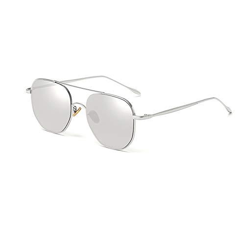 XDJ Gafas de Sol Lentes Nuevos Anti-Ultravioleta Luz Anti-Azul Gafas De Sol Señoras Hombres Retro Versión Coreana De La Marea Gafas De Sol, Tiro Callejero