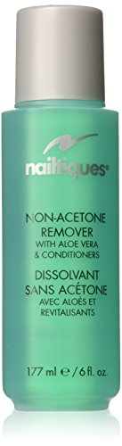 Nailtiques Non-Acetone Remover With Aloe Vera and Conditioner, 6 Ounce