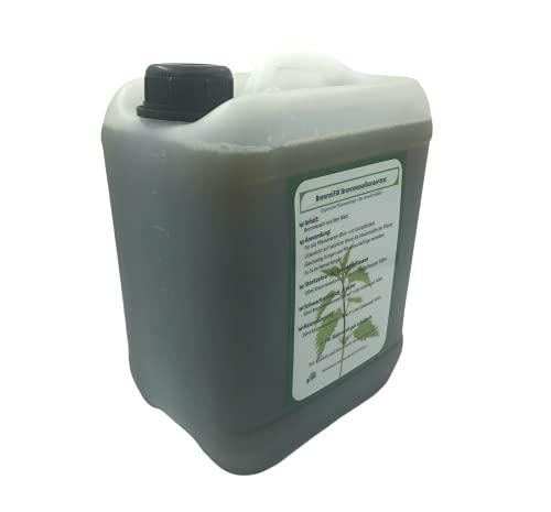 BrennniFIX® Brennnesselkonzentrat Brennnesseljauche Dünger 5 Liter Bio Natur Tomatendünger Gurkendünger