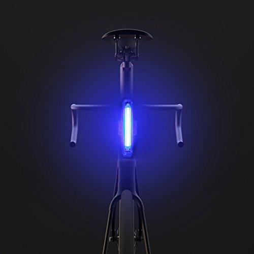 Lampe frontale rechargeable USM, 100 lumens (Color : Bleu)