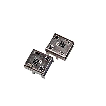 Youyitai DC in Jack USB Charging Port Connector Replacement for ASUS Chromebook C201P C201PA-DS01 C201PA-DS02