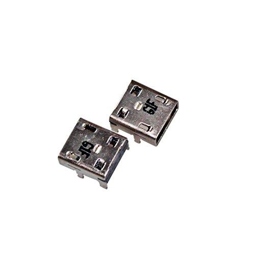 Gintai Conector de puerto de carga DC de repuesto para Asus X205T 11.6' X205TA INTEL Z3735F TP200SA-UHBF TP200S TP200SA-DH04T, 5 piezas
