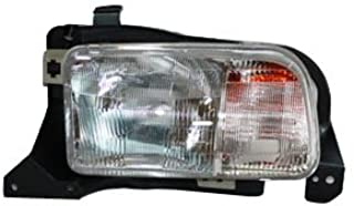 TYC 20-6366-00 Compatible with CHEVROLET Tracker Driver Side Headlight Assembly
