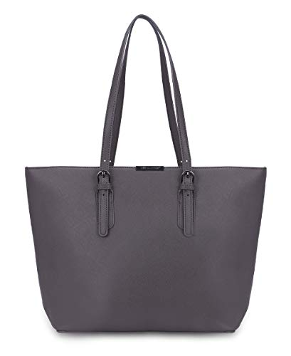 David Jones - Borsa Tote Shopper Grande Capacità Donna - Borsa a...