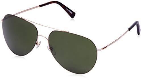 Montblanc Mont Blanc Sunglasses Mb595S 28N-60-15-145 Gafas de sol, Dorado (Gold), 60 para Hombre