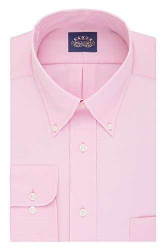 Eagle Men's Regular Fit Stretch Collar Dress Shirt (Blush) $7 + Free S&H w/ Prime or orders $25+ ~ Amazon