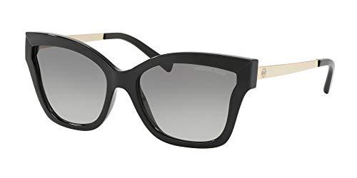 Michael Kors 0MK2072 Gafas de Sol, Black Injected, 56 para Mujer