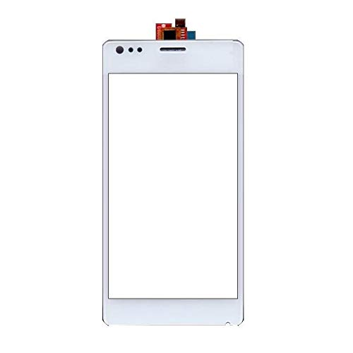 Shockware Touch Screen Digitizer Glass Part for Sony Xperia M C1904 C1905 C2004 C2005 : White