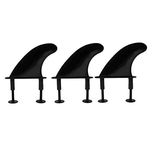 Sharplace Juego de Tornillos Y Llaves de Aleta para Tabla de Surf Tabla de Paddle Surf con Cubierta Blanda