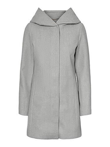 Vero Moda Vmdafnedora 3/4 Jacket Noos Chaqueta, Gris Claro, XL para Mujer