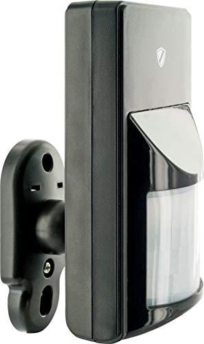 SCHWAIGER -5439- Bewegungsmelder außen | Bewegungssensor für den Außenbereich | Alarmanlage fürs Haus | Einbruchschutz | Outdoor und Indoor | mehr Sicherheit | Erweiterungsprodukt