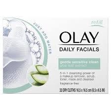OLAY - Paños de limpieza 5 en 1 para uso diario