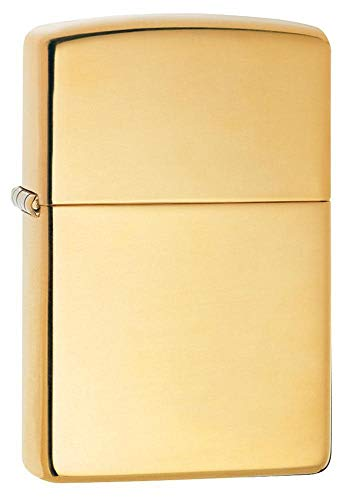 Zippo 254B High Polish Brass Pocket Lighter