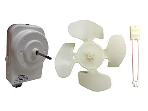 Edgewater Parts W10124096 Refrigerator Condenser Fan Motor Kit Compatible With Whirlpool, Kenmore, KitchenAid, Maytag, Estate, Amana, Jenn-Air, Crosley, Roper, Inglis, & GE
